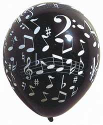notes ballon